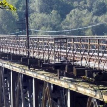 Most kolejowy w Pilchowicach