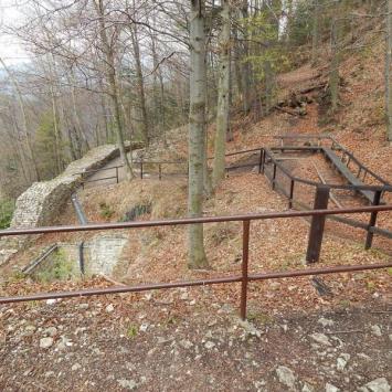 Zamkowa Góra w Pieninach