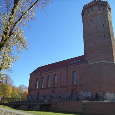 Zamek krzyżacki w Człuchowie