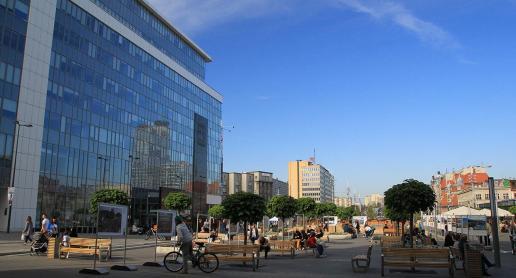 Nowy Rynek w Katowicach - zdjęcie