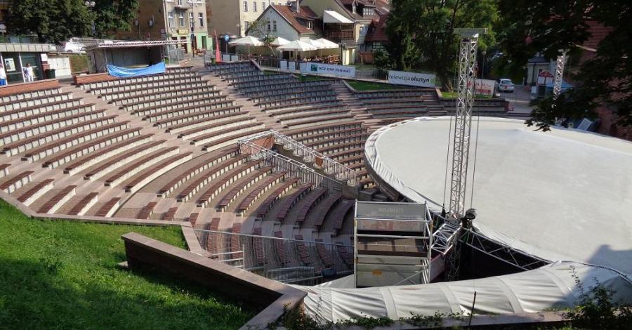 Amfiteatr w Olsztynie - zdjęcie