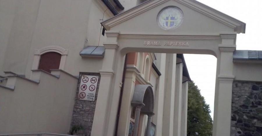 Brama Papieska na Górze Św. Anny - zdjęcie