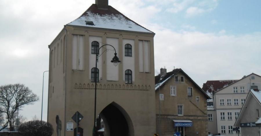 Brama Wysoka w Gryficach - zdjęcie
