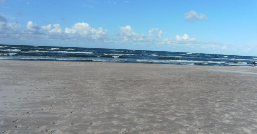 Plaża w Mielnie Unieściu - zdjęcie