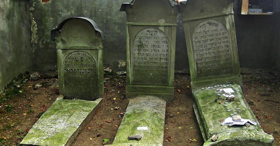 Cmentarz żydowski w Pilicy - zdjęcie