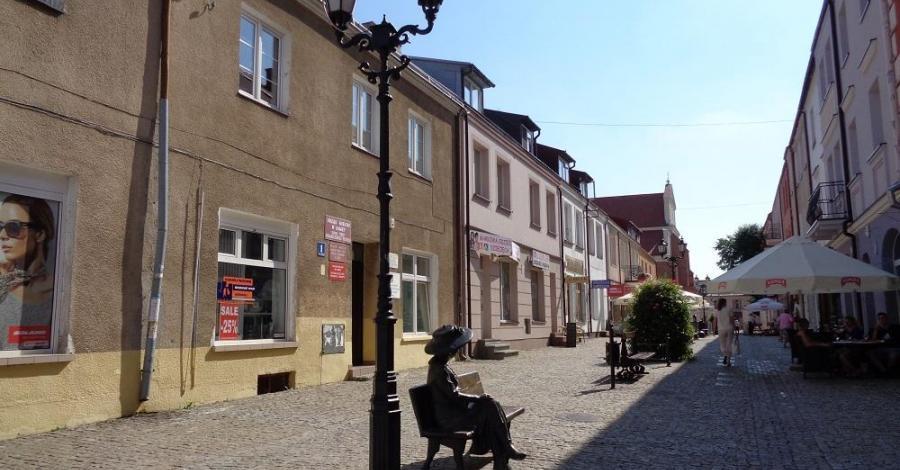 Deptak w Łomży - zdjęcie