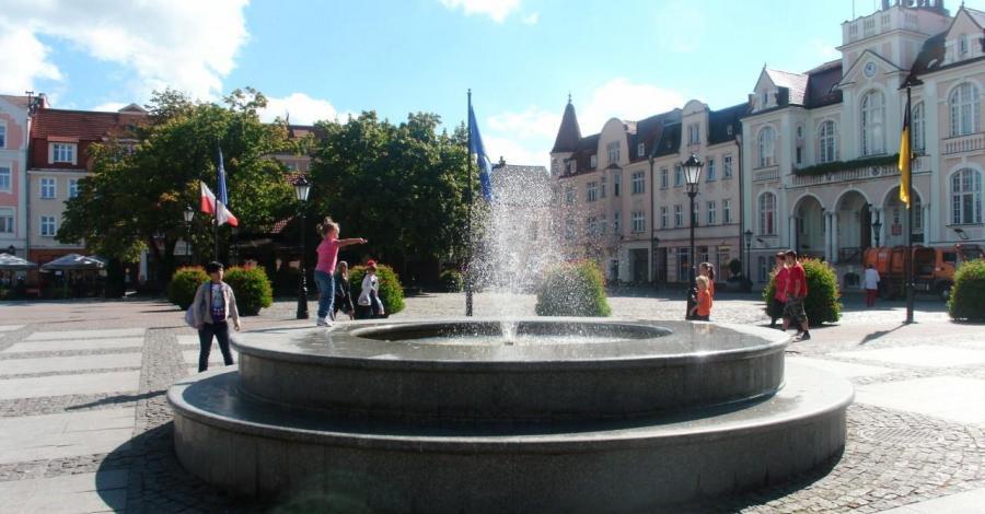 Fontanna w Wejherowie - zdjęcie