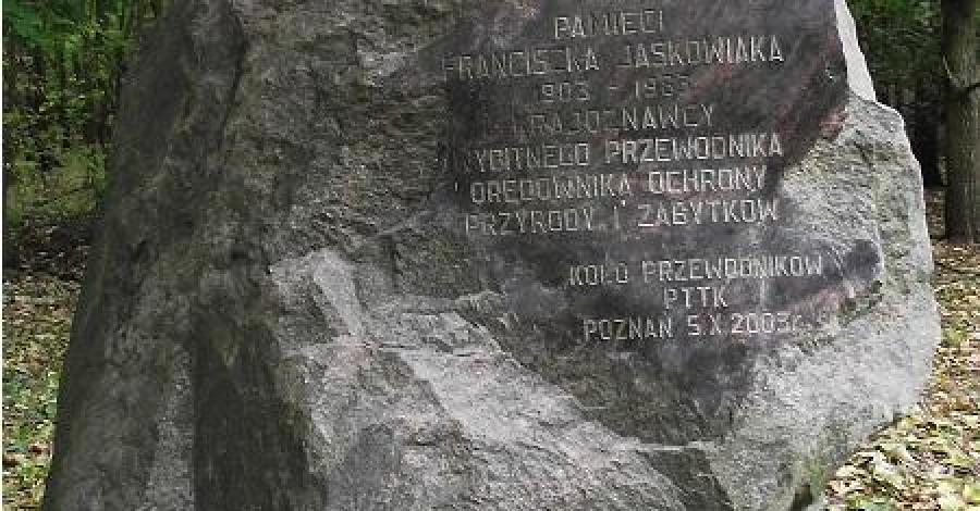 Głaz Franciszka Jaśkowiaka w Poznaniu, Barbara Michalewska