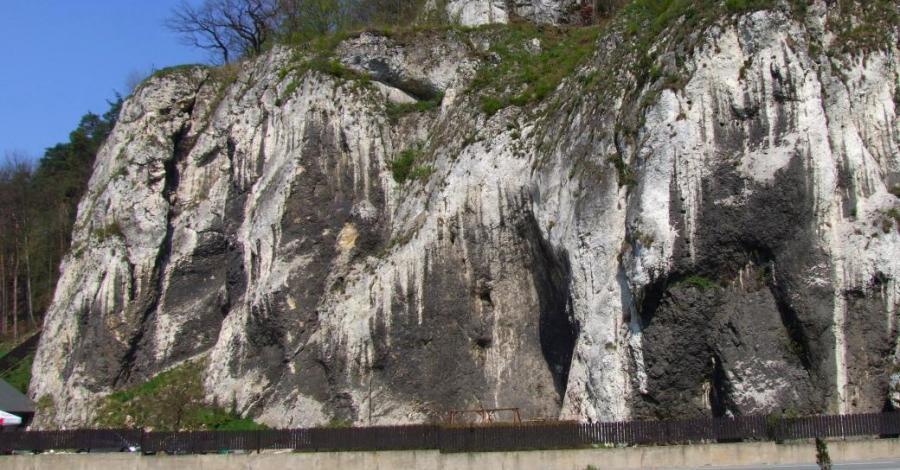 Skały Wernyhory w Ojcowskim Parku Narodowym - zdjęcie