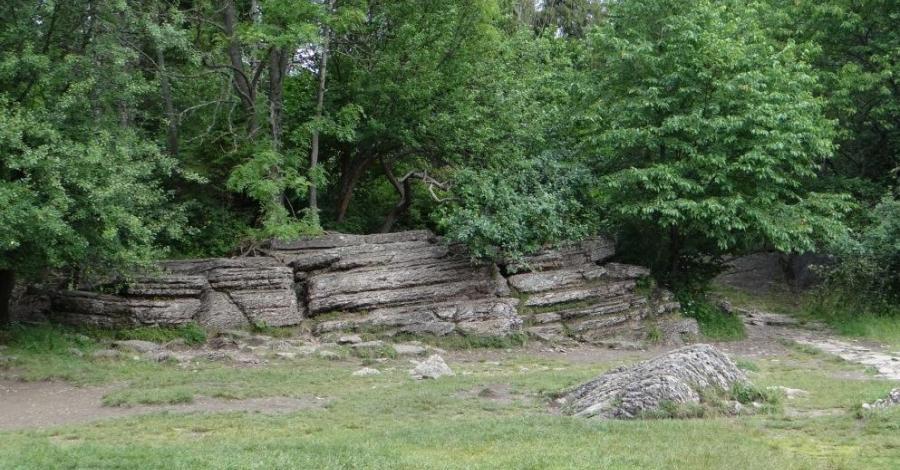 Kamienne Księgi w Pieninach - zdjęcie