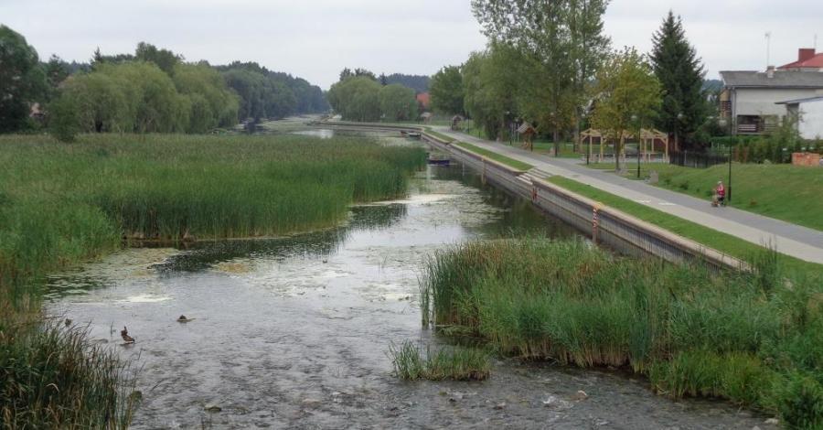 Kanał Bystry w Augustowie - zdjęcie