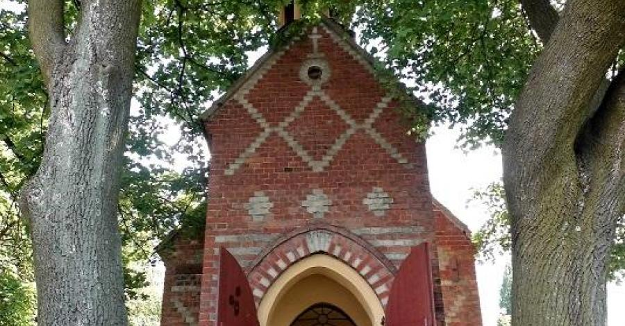 Kapliczka w Woźnikach, Magdalena