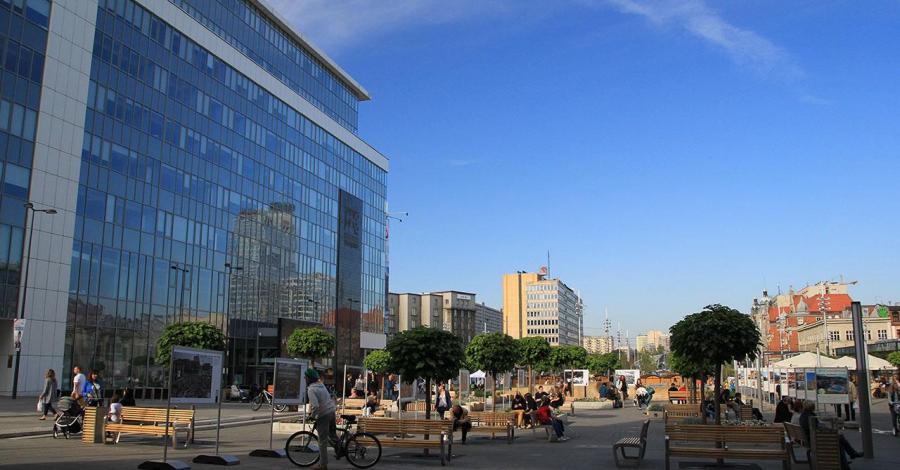 Rynek w Katowicach - zdjęcie