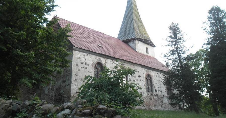 Kościół Zwiastowania NMP w Łącku - zdjęcie