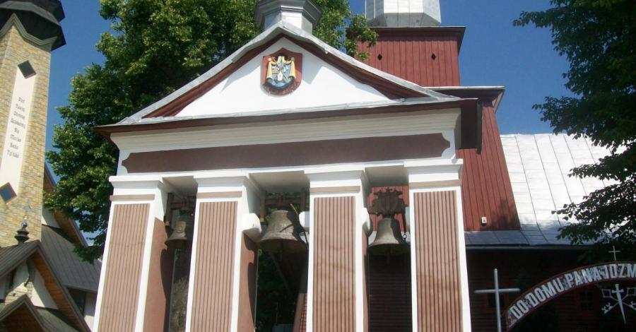 Drewniany kościół w Tyliczu - zdjęcie