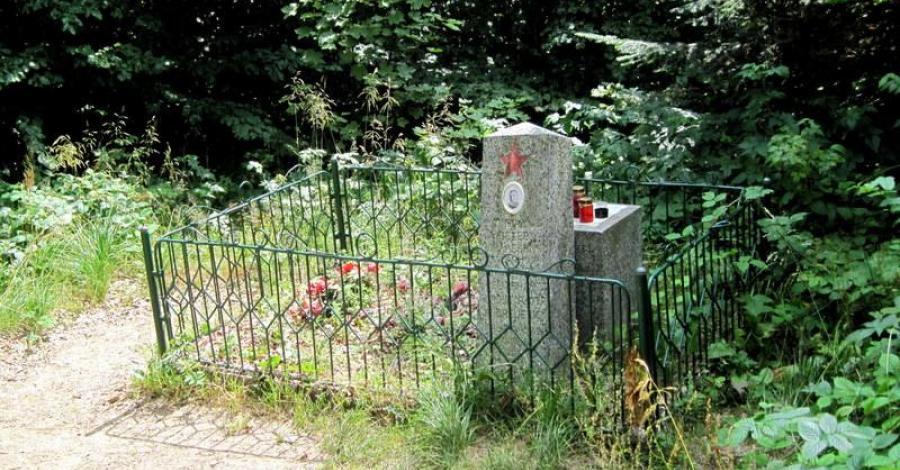 Mogiła Gładysza w Bieszczadach - zdjęcie