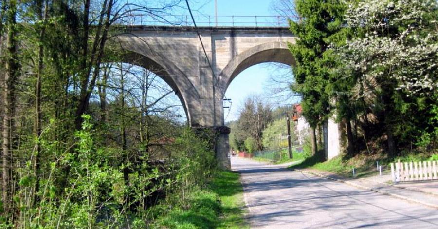 Most kolejowy w Wiśle Dziechcince - zdjęcie