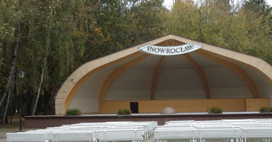 Muszla koncertowa w Inowrocławiu - zdjęcie