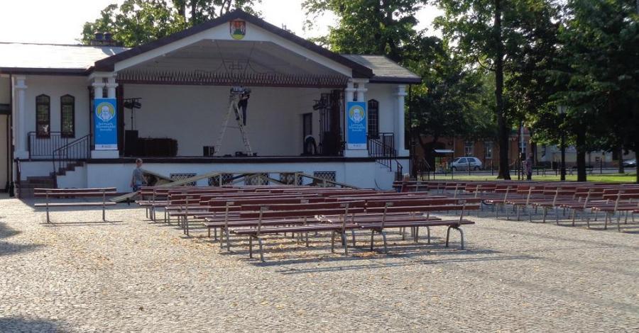 Muszla koncertowa w Suwałkach - zdjęcie