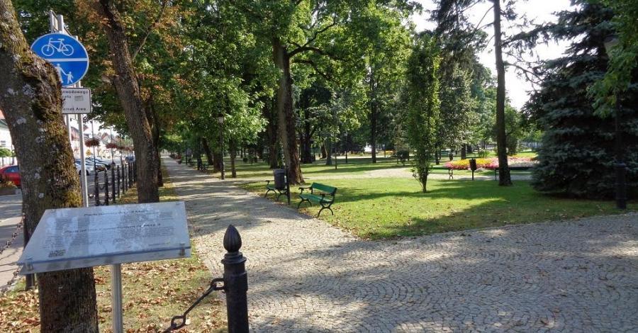 Park Konstytucji 3 Maja w Suwałkach - zdjęcie