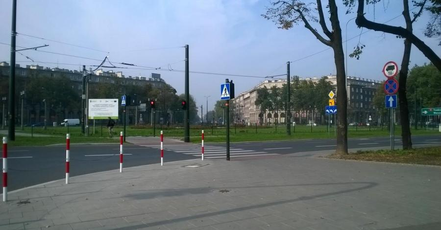 Plac Centralny w Krakowie - zdjęcie
