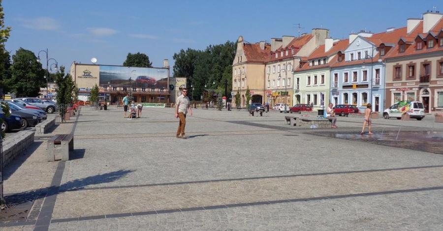 Rynek w Piszu - zdjęcie