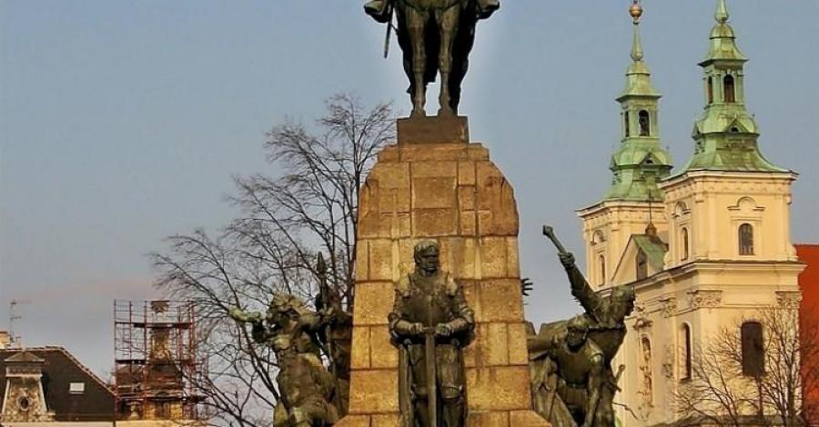 Pomnik Grunwaldzki w Krakowie - zdjęcie
