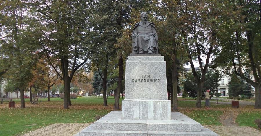 Pomnik Jana Kasprowicza w Inowrocławiu - zdjęcie