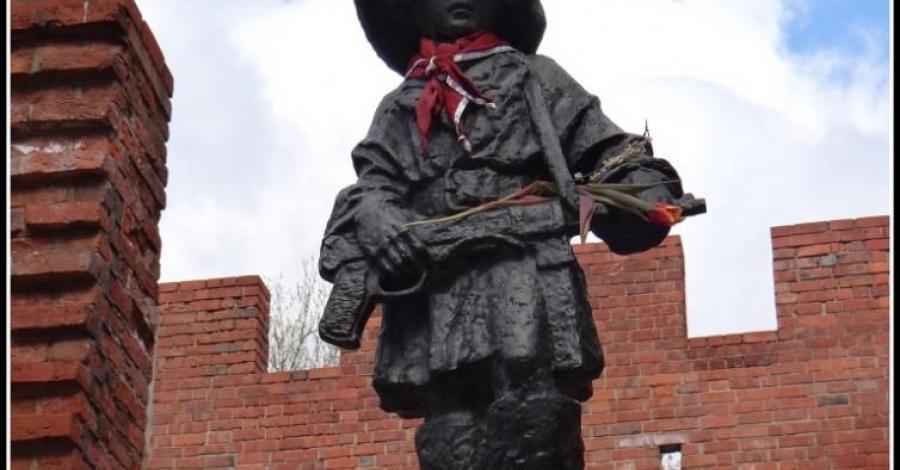 Pomnik Małego Powstańca w Warszawie - zdjęcie