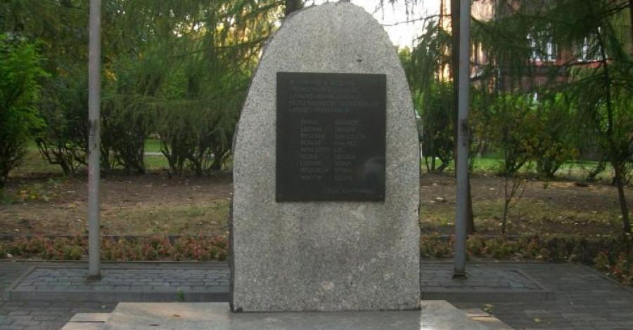 Pomnik pamięci zamordowanych w Świętochłowicach - zdjęcie
