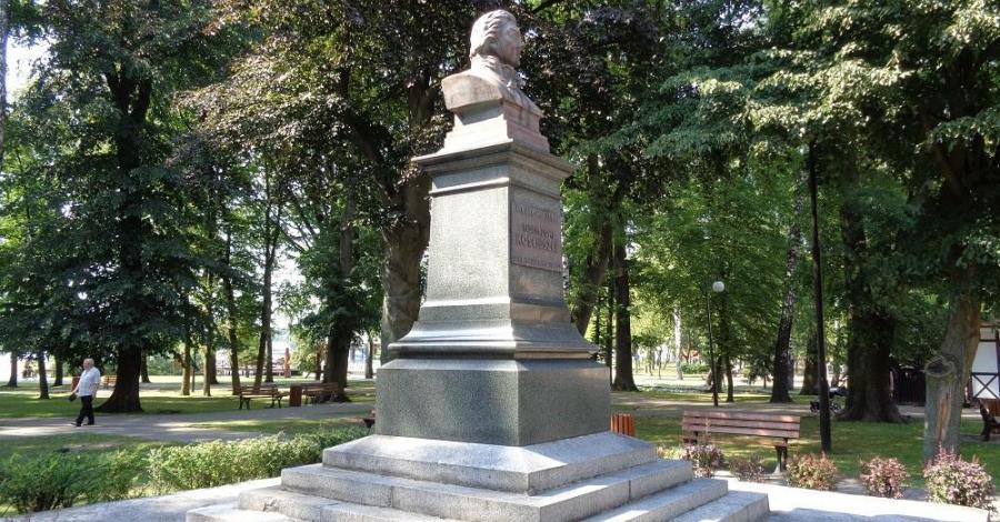 Pomnik Kościuszki w Ostródzie - zdjęcie