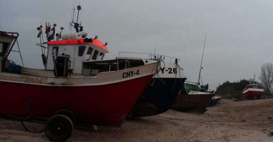 Przystań rybacka w Chłopach - zdjęcie