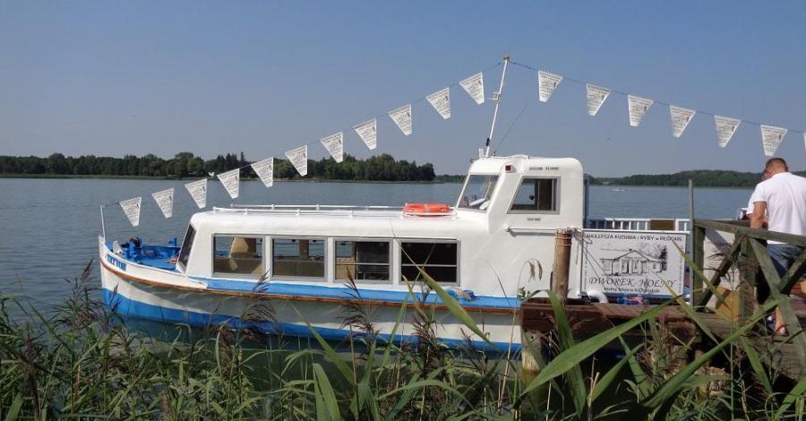 Rejsy statkiem po Jeziorze Wigry - zdjęcie