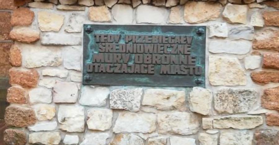 Mury obronne w Olkuszu, mokunka