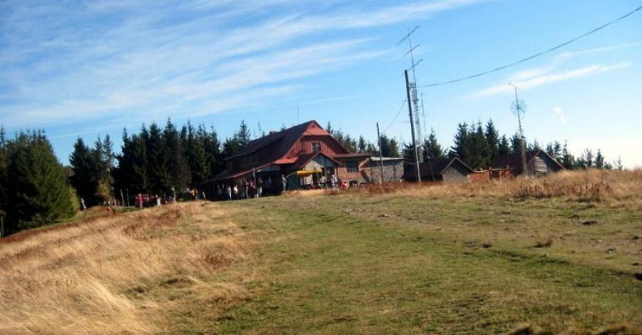 Schronisko Na Czantorii w Beskidzie Śląskim - zdjęcie