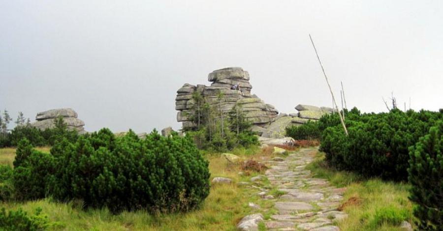 Śląskie Kamienie w Karkonoszach - zdjęcie