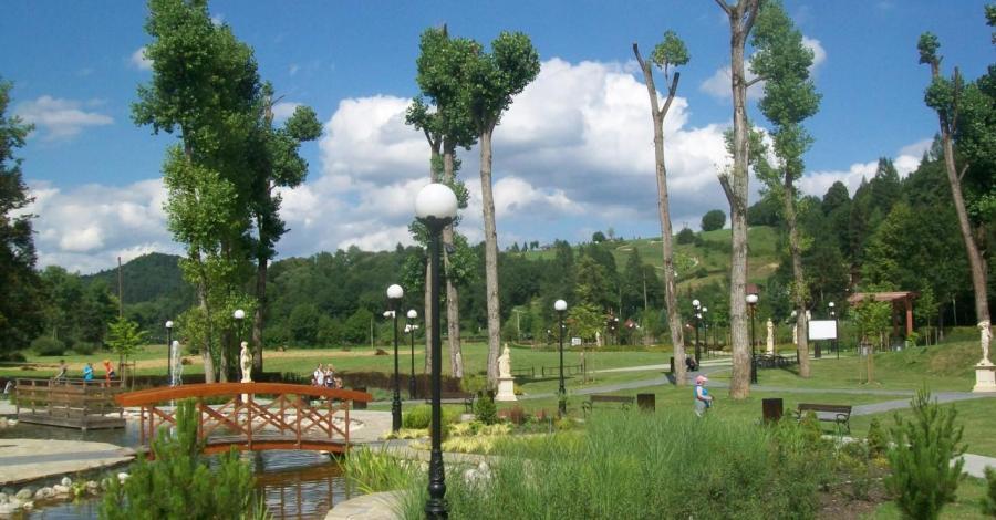 Stawy relaksacyjne w Muszynie - zdjęcie