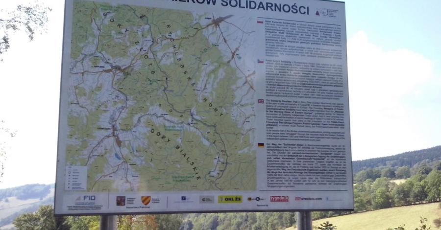 Szlak Kurierów Solidarności w Górach Złotych - zdjęcie