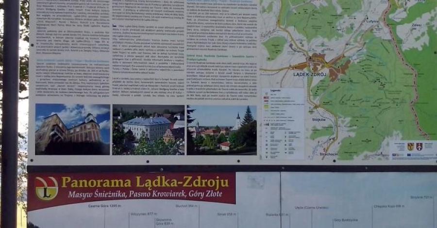 Trasy pogranicza w Lądku Zdroju - zdjęcie