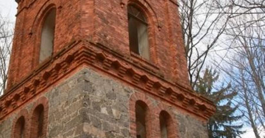 Wieża w Jeleniej Górze Maciejowej, mokunka