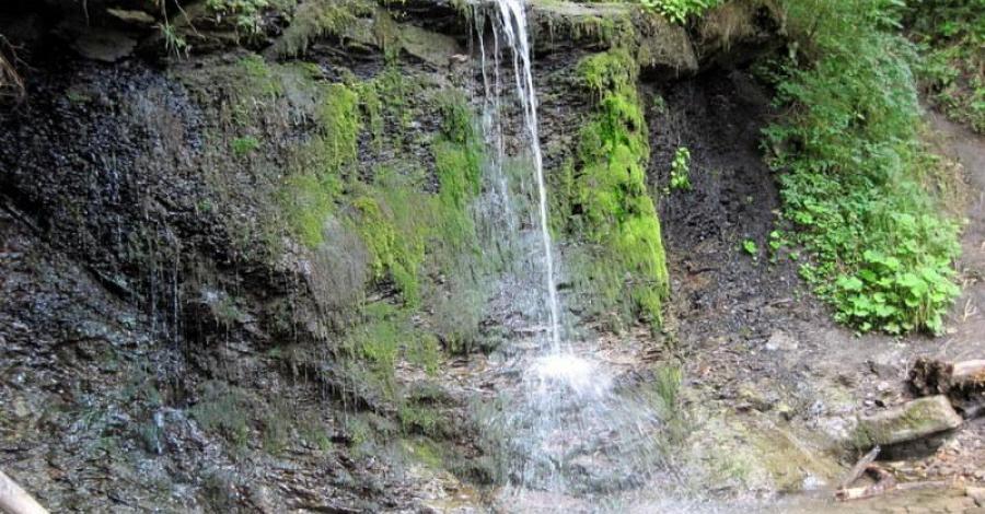 Wodospad Siklawa Ostrowskich w Bieszczadach - zdjęcie