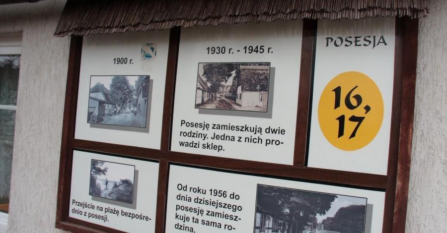 Zabytkowe domy rybackie w Chłopach - zdjęcie