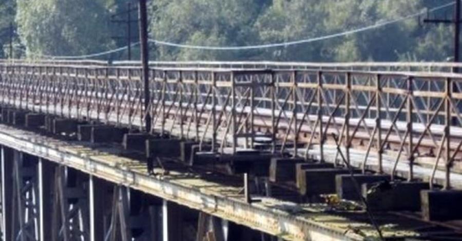 Most kolejowy w Pilchowicach - zdjęcie