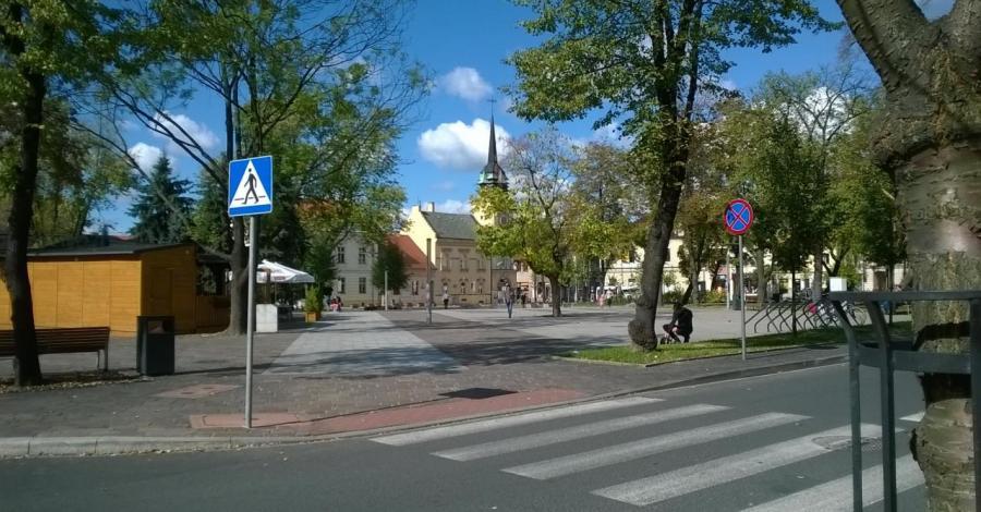 Rynek w Skawinie - zdjęcie