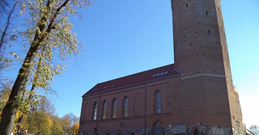 Zamek krzyżacki w Człuchowie - zdjęcie