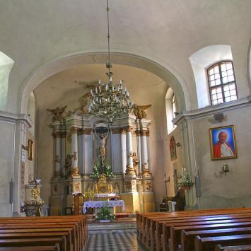 Kościół w Borzęciczkach