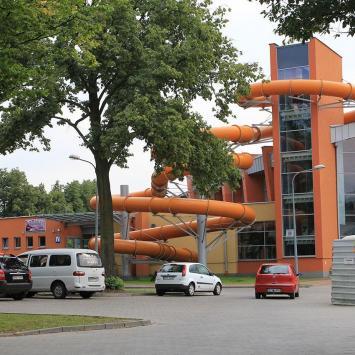 Park Wodny w Hajnówce - zdjęcie
