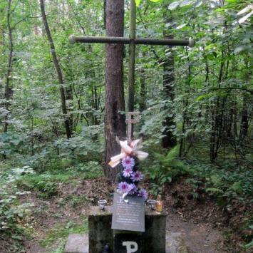 Pomnik poległych partyzantów w Sławkowie