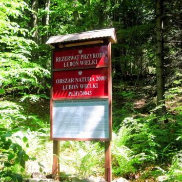 Rezerwat Luboń Wielki