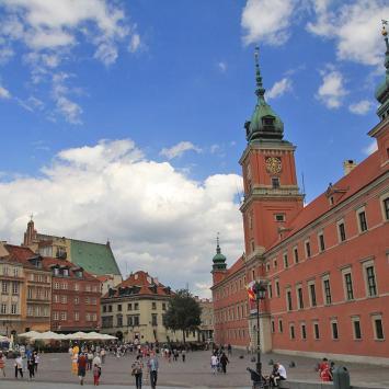 Plac Zamkowy w Warszawie - zdjęcie